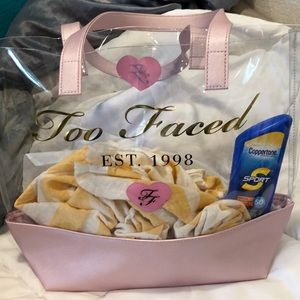 Too Faced tote